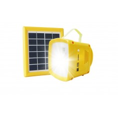 Solar LightBox and Phone Charger