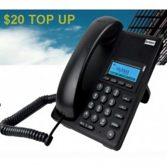 $20 Call Credit Top Up