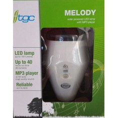 Melody (Solar Lamp with MP3 Player)